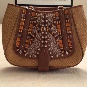 000df912a7 Women Cole Haan Straw Handbag on Poshmark